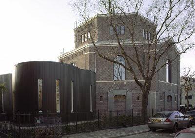 Uitbreiding en renovatie Plaats van Samenkomst Zaandam