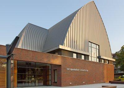 Nieuwbouw Apostolisch Genootschap Plaats van Samenkomst Dordrecht