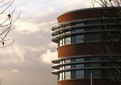 Nieuwbouw Rabobank in Bergschenhoek (nu Rabobank Zuid-Holland Midden)