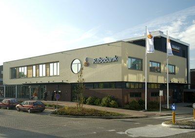 Uitbreiding en verbouwing Rabobank Hellevoetsluis